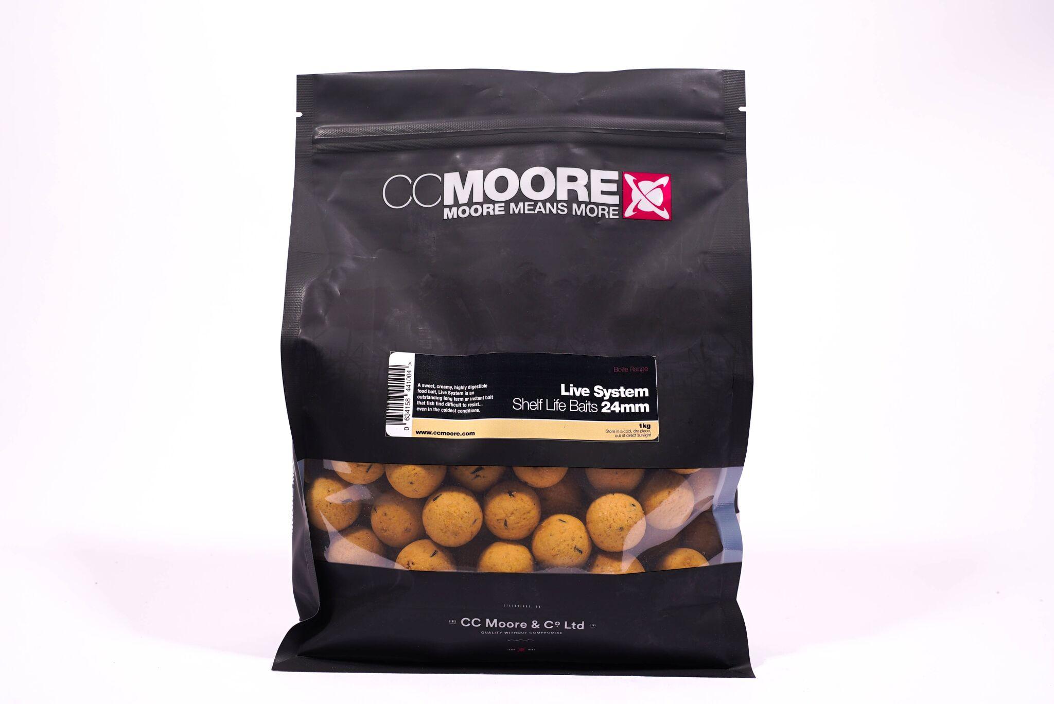 CC Moore Live system - Trvanlivé boilie 24mm 1kg