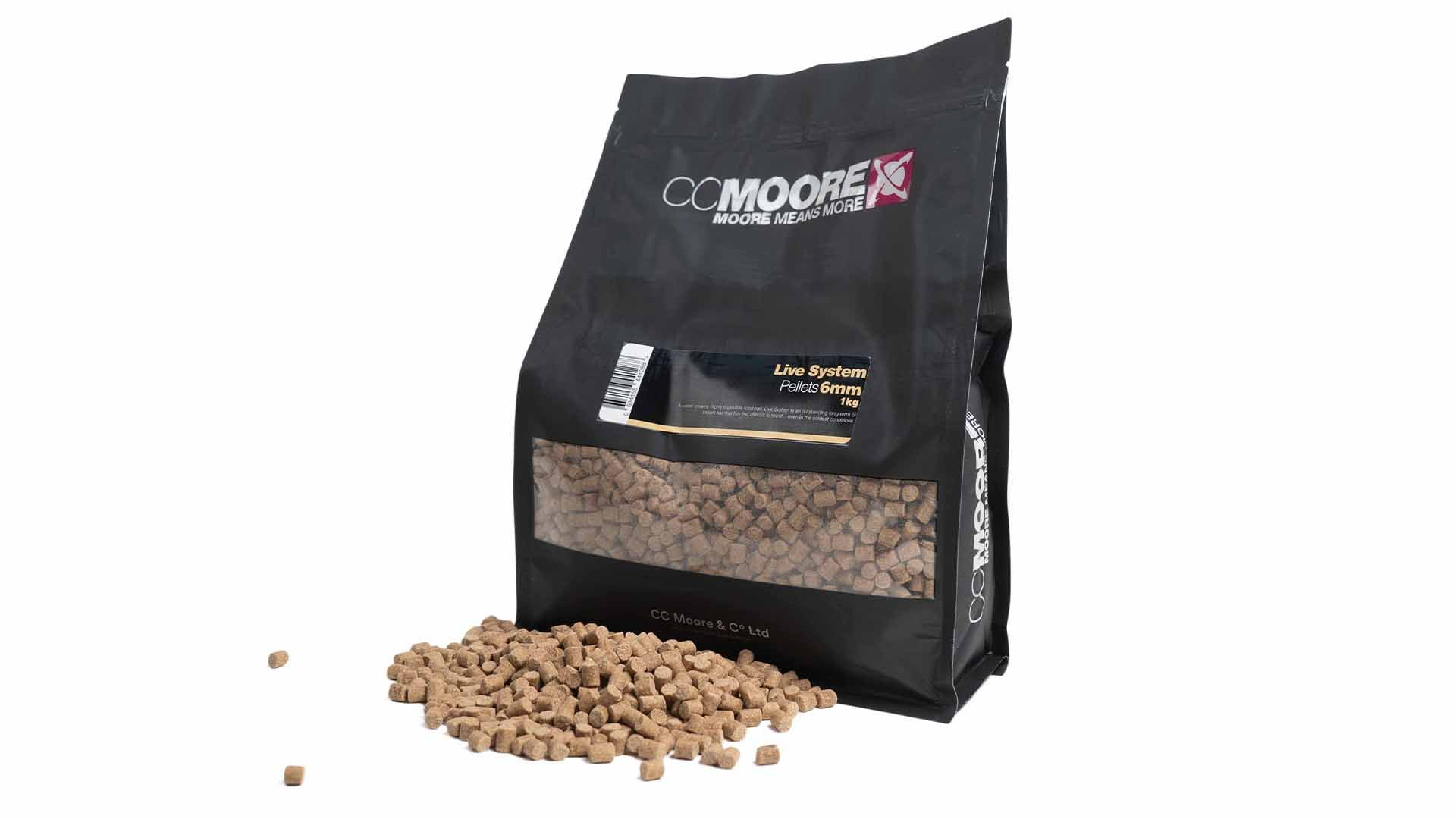 CC Moore Live system - Mini pelety 6mm 1kg