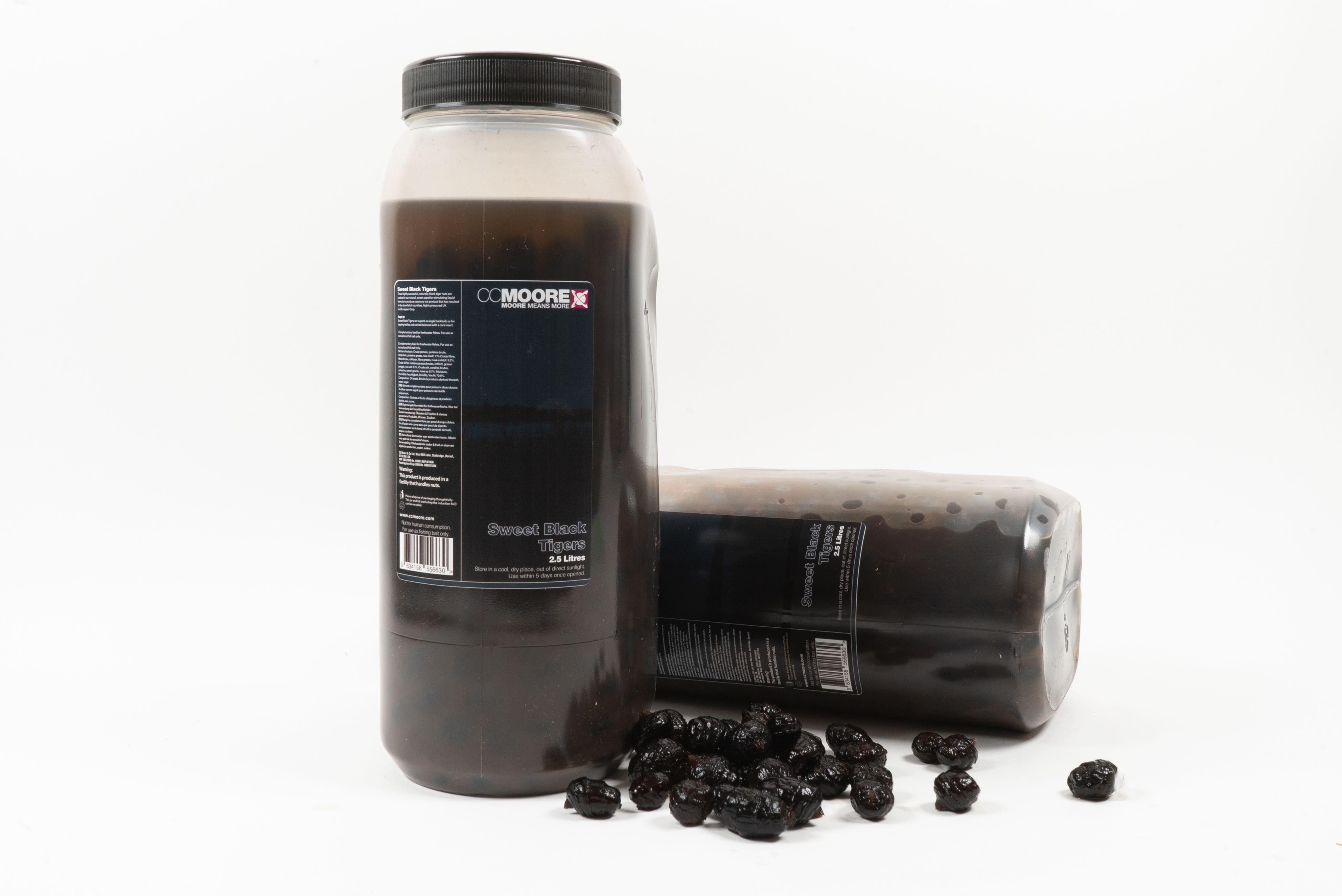 CC Moore nakládaný partikl - Sweet Black černé tygří ořechy 2,5l
