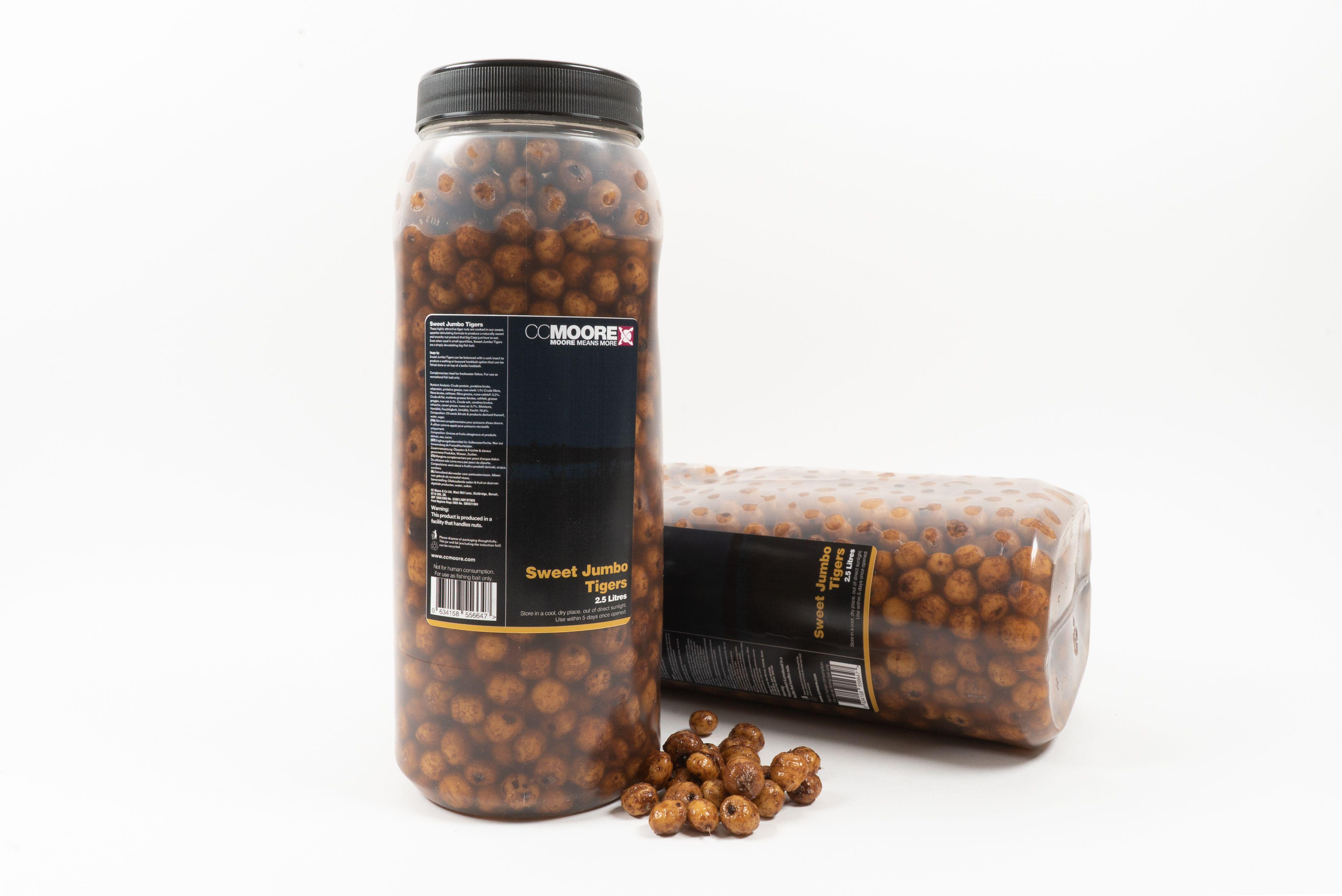 CC Moore nakládaný partikl - Sweet Jumbo velké tygří ořechy 2,5l