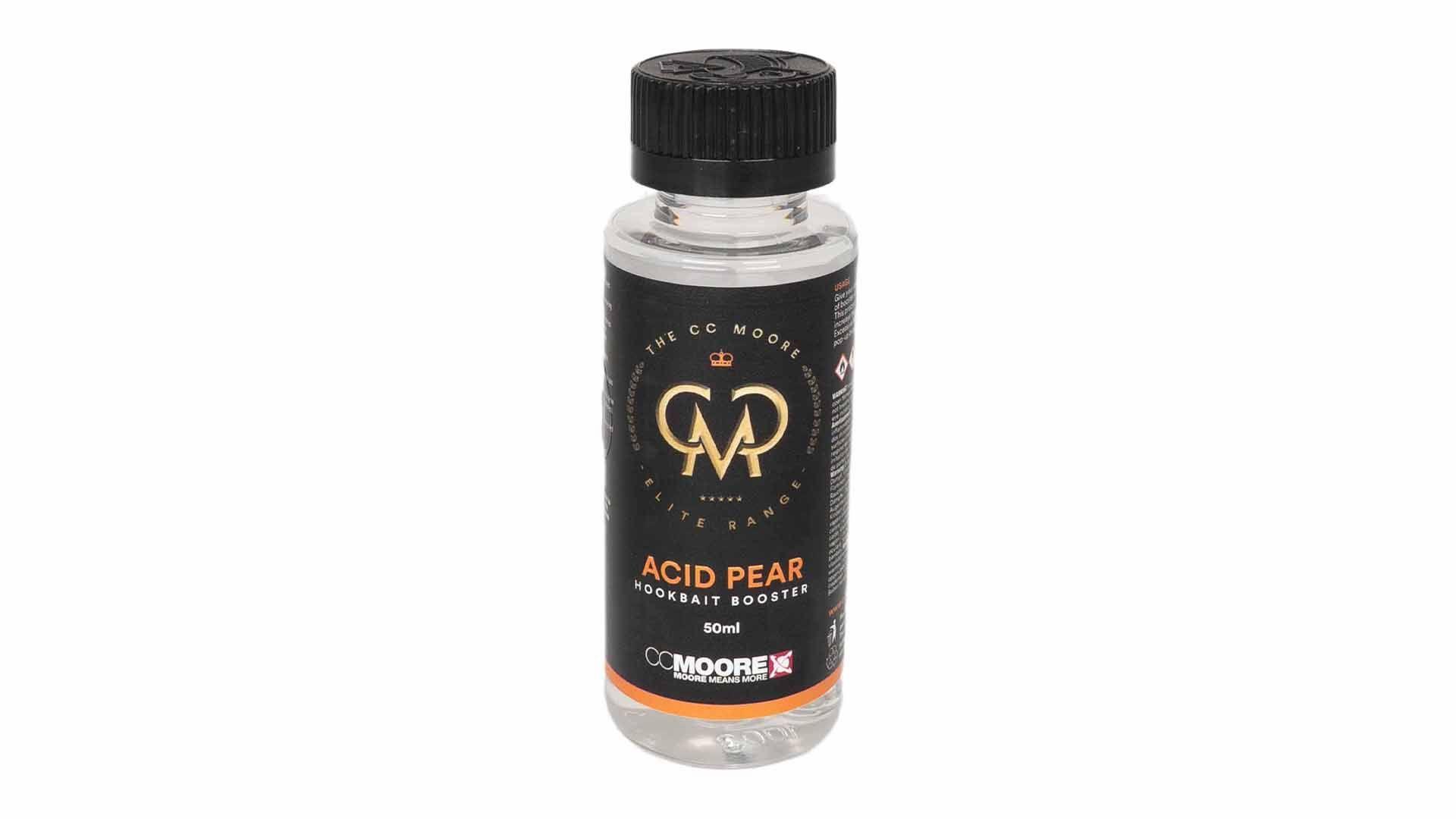 CC Moore plovoucí boilie - Elite Acid Pear hookbait booster 50ml
