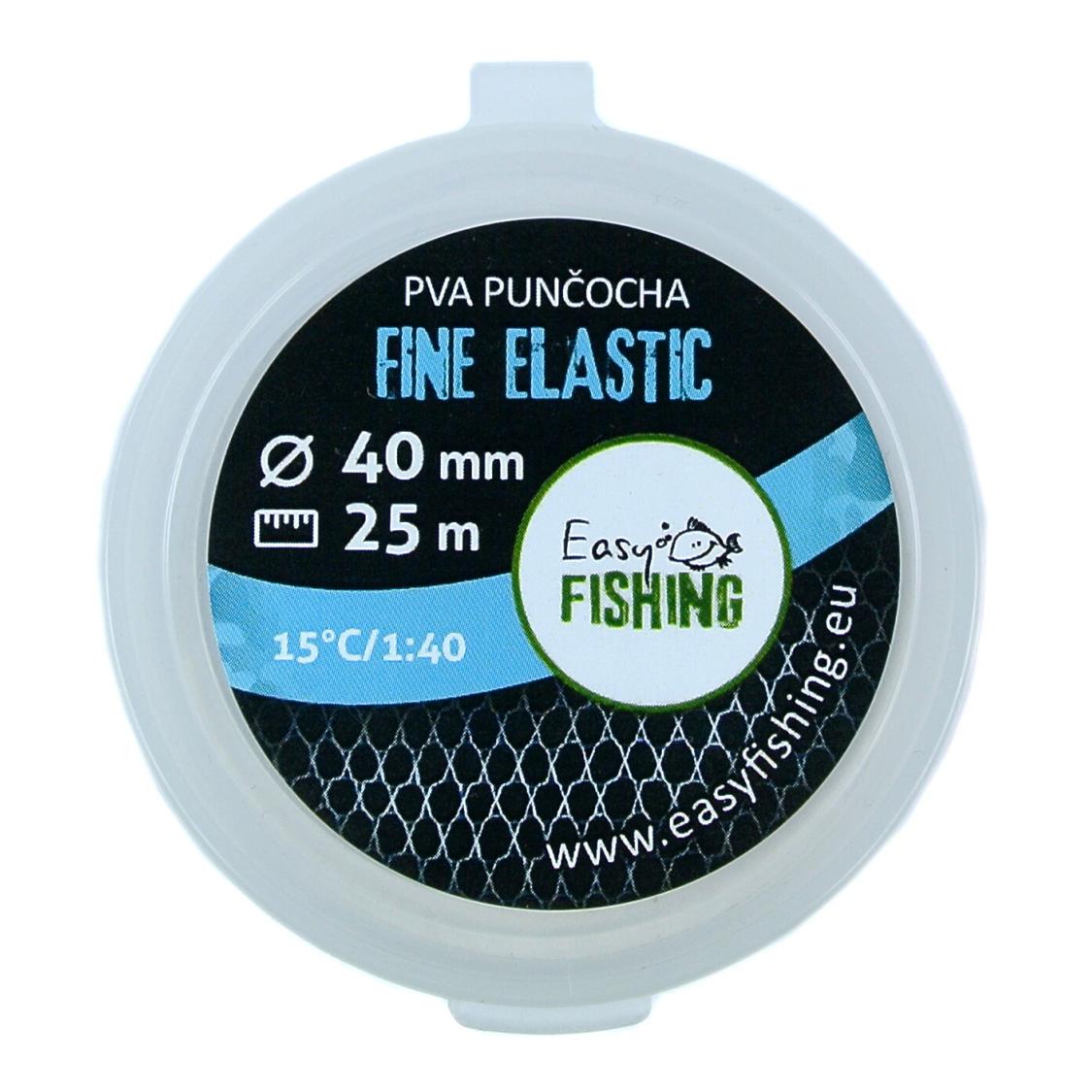 EasyFISHING 25m náhradní - PVA punčocha ELASTIC FINE 40mm