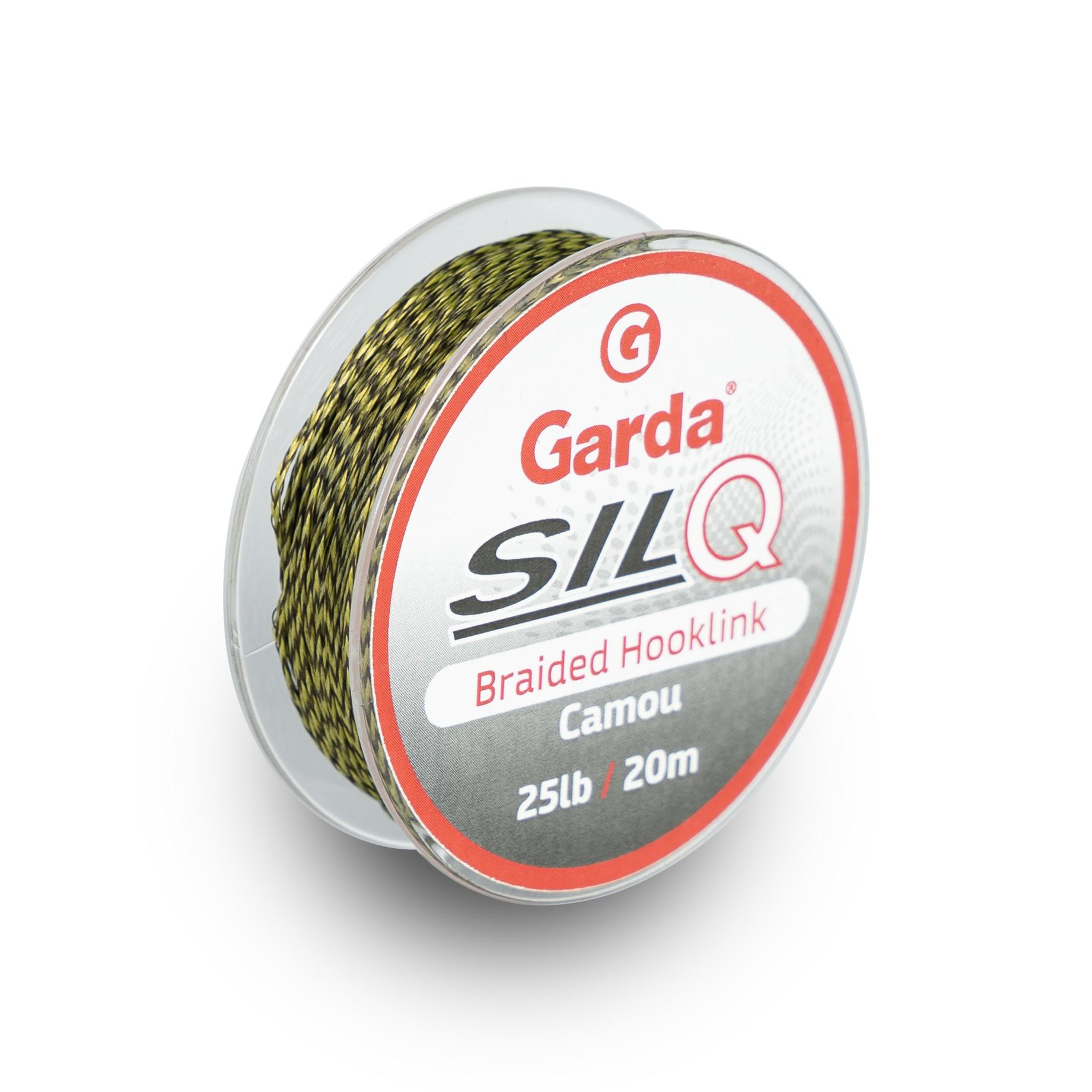 Garda návazcové materiály - SILQ pletený camou 20m 25lb