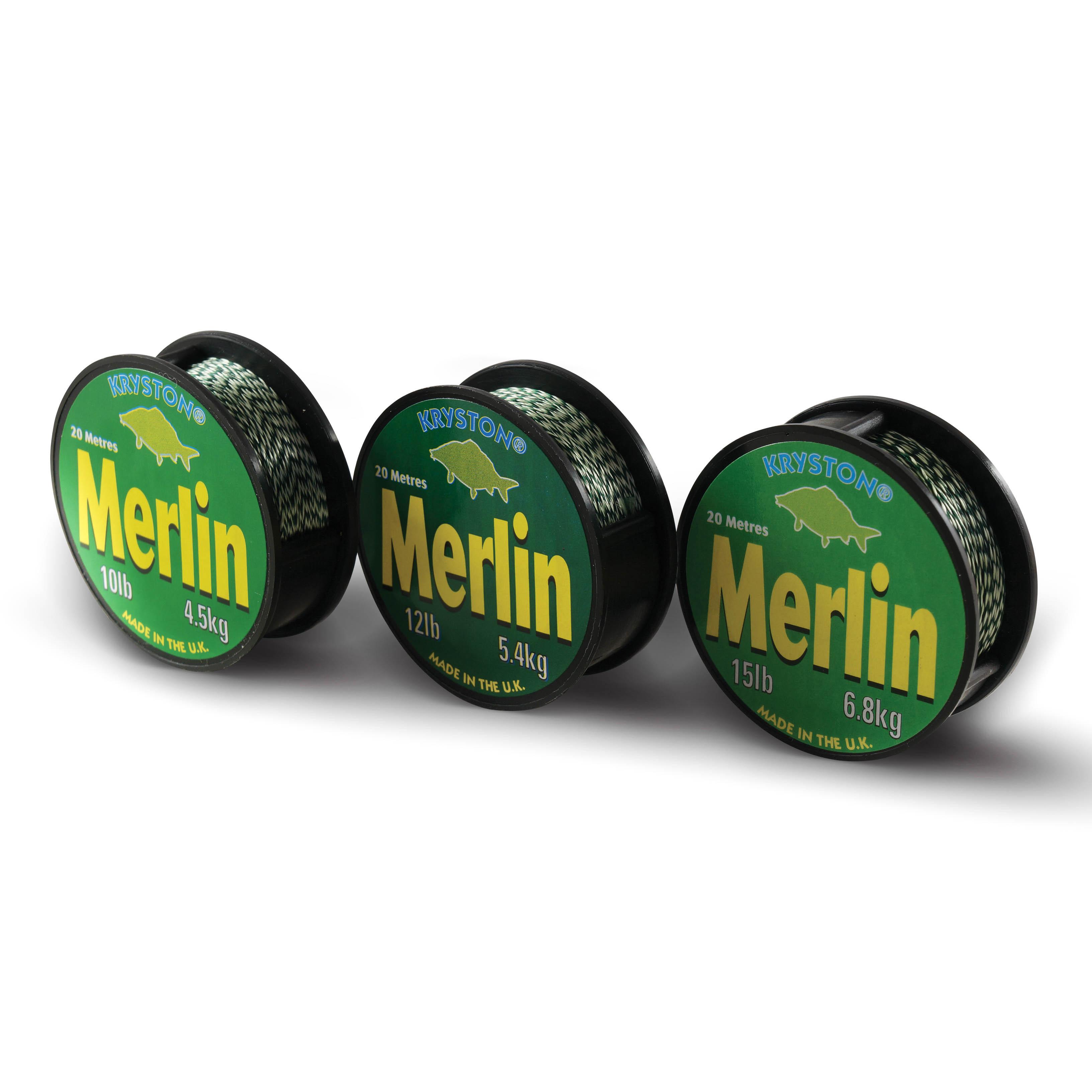 Kryston pletené šňůrky - Merlin 15lb 20m