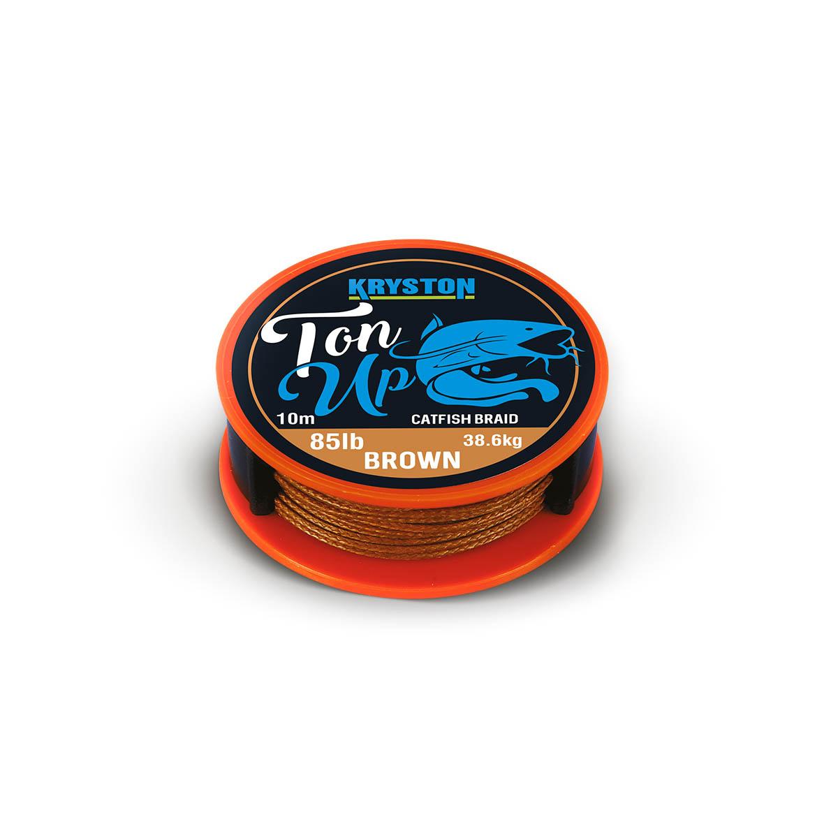 Kryston sumcové návazce - Ton Up 85lb 10m