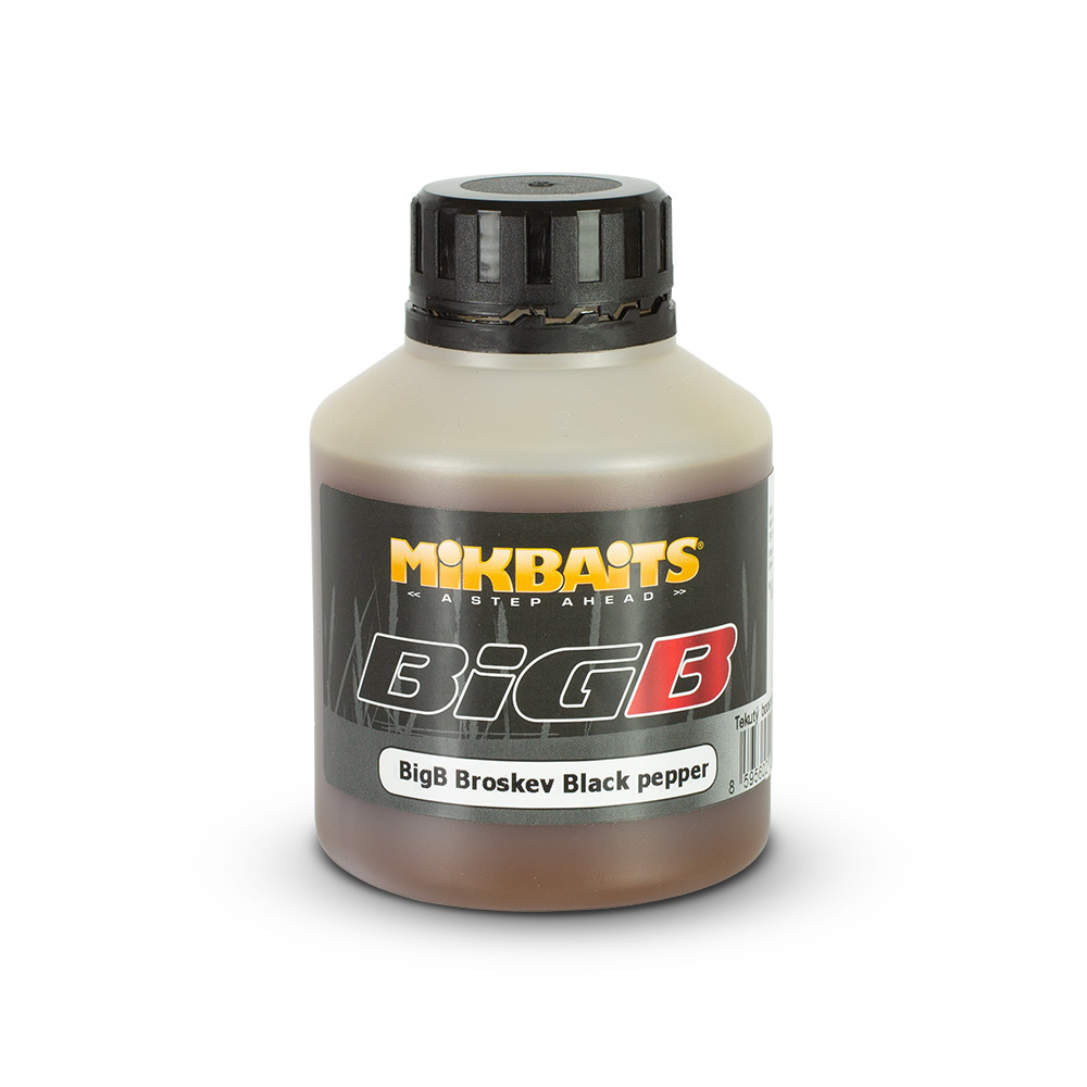 BiG booster 250ml - BigB Broskev Black pepper