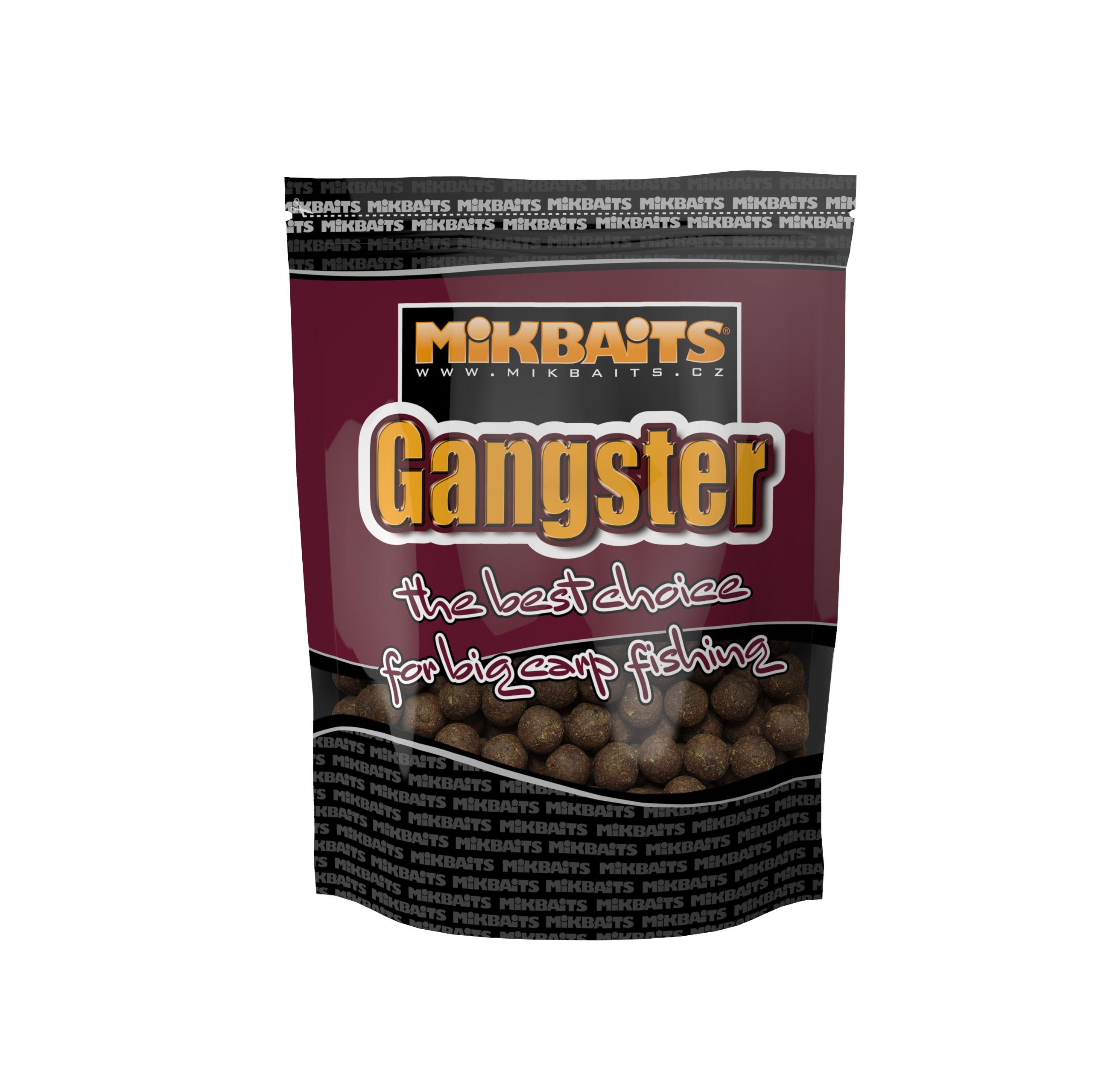 Gangster boilie 1kg - GSP Black Squid 20mm