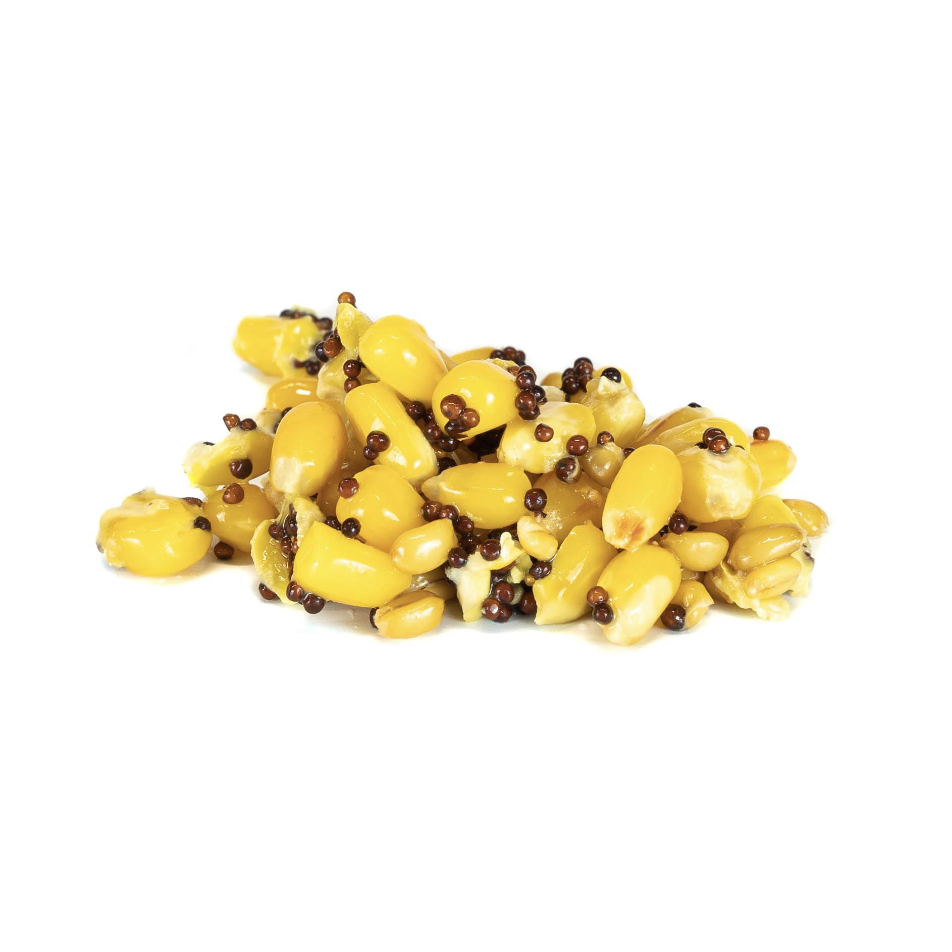 Nakládaný partikl 1kg - Partiklový express (kukuřice, pšenice, řepka)
