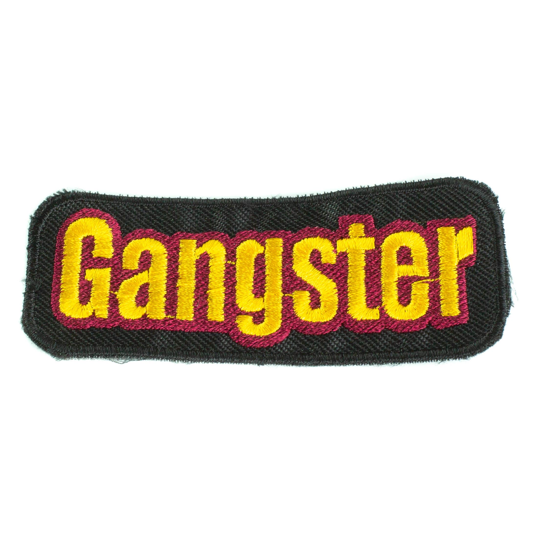 Propagační předměty - Nášivka Gangster