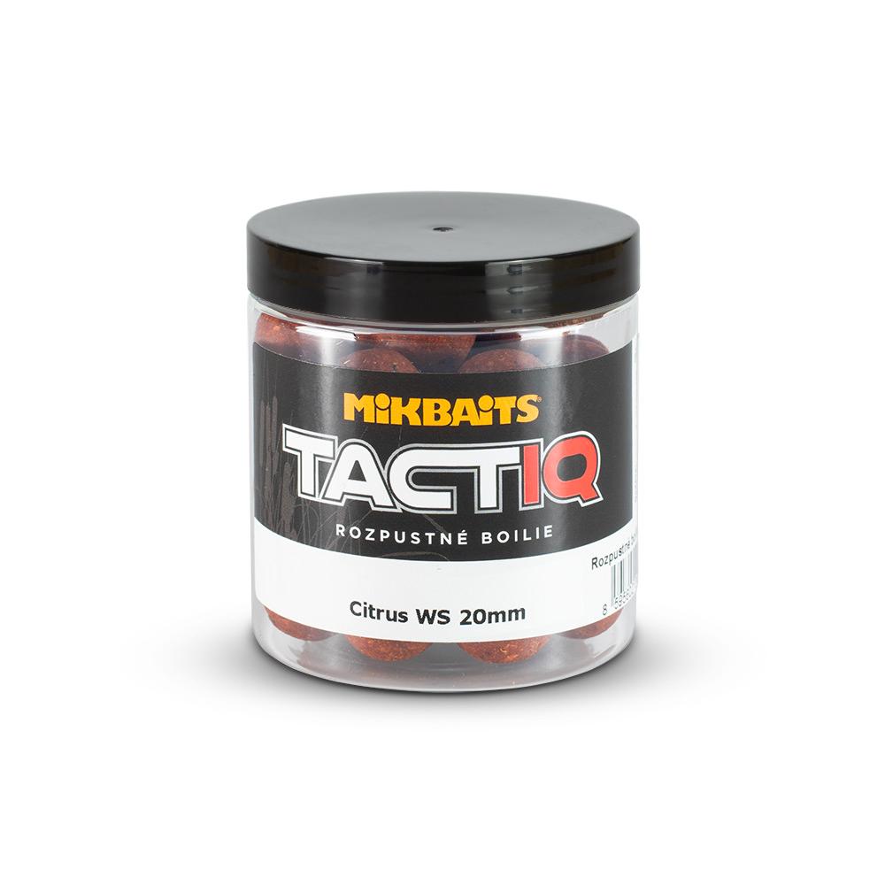 TactiQ rozpustné boilie 250ml - Citrus WS 20mm