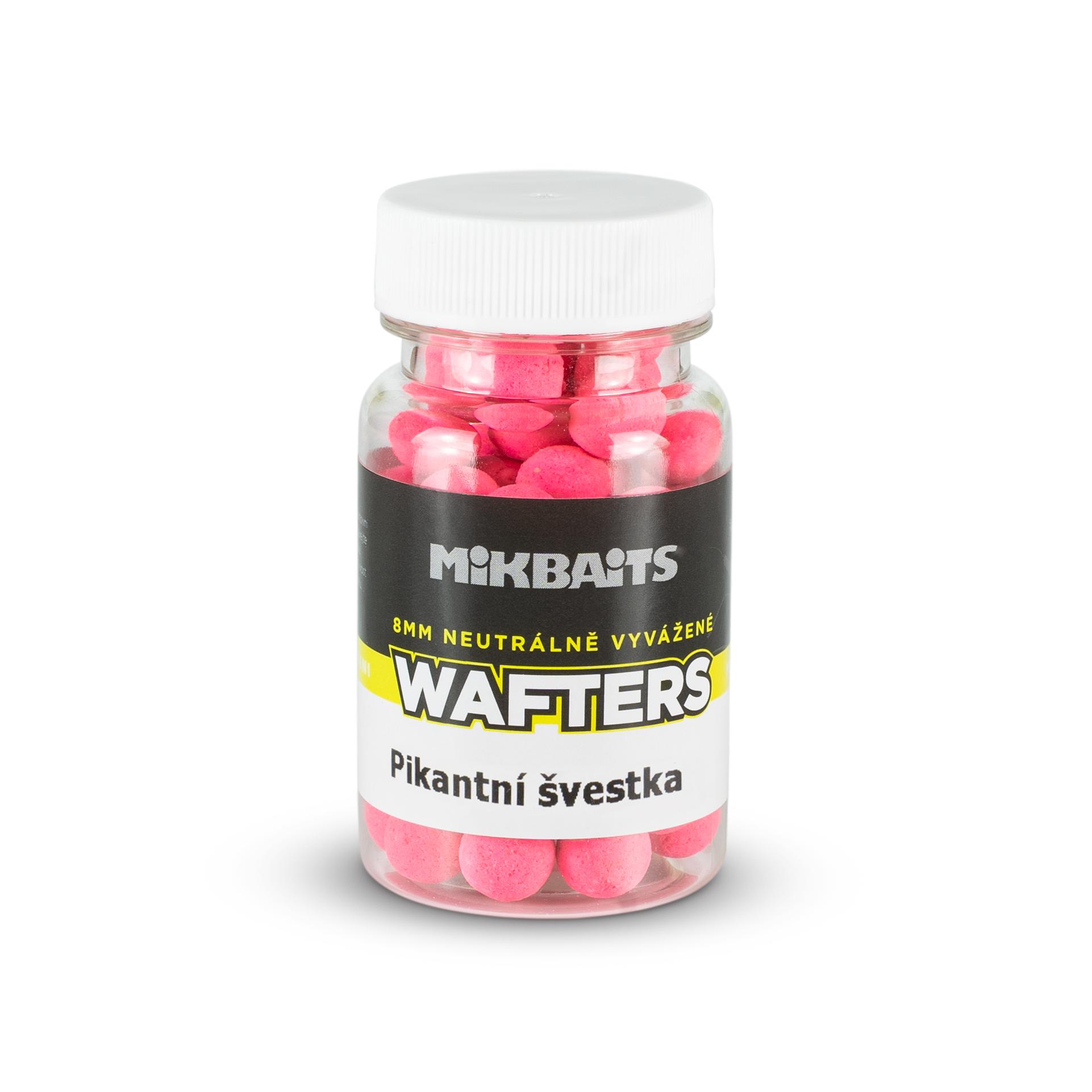 Mini Wafters vyvážené nástrahy 60ml - Pikantní švestka 8mm