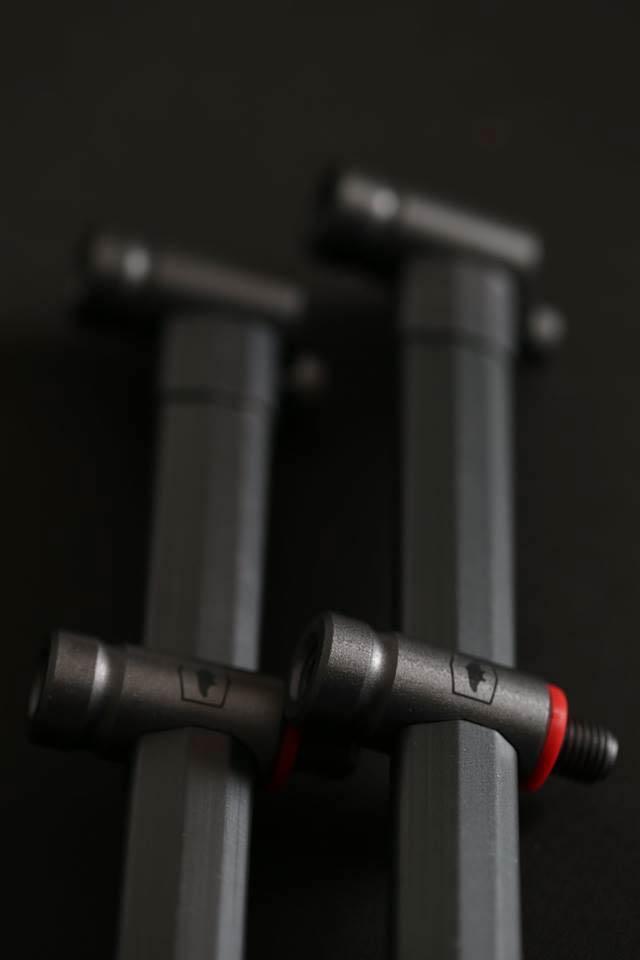 Taska A-type range - Hrazdy na 3 pruty Snag výsuv. 2ks 35&40cm