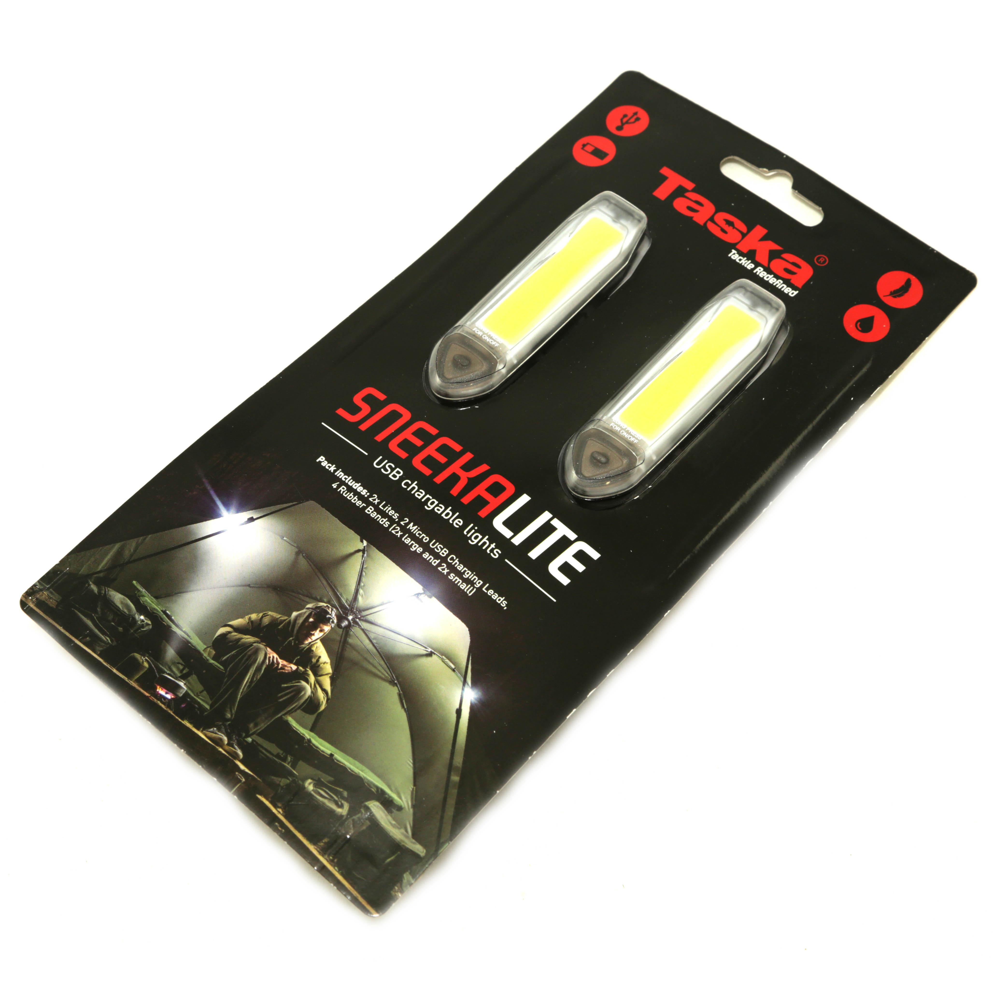 Taska- Sneeka Lite kompaktní USB světla do bivaku 2ks