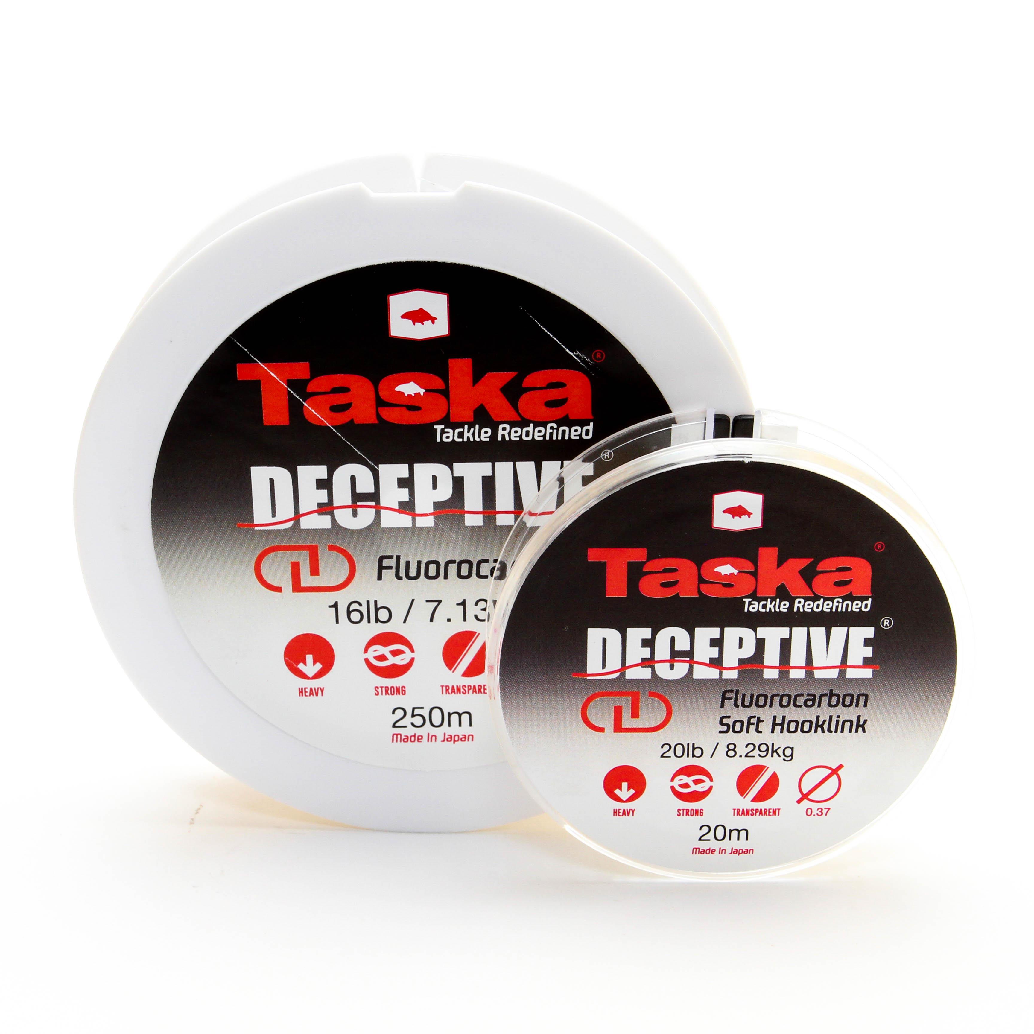 Taska Deceptive - Fluorocarbon extra odolný čirý 20m 0,47mm 30lb